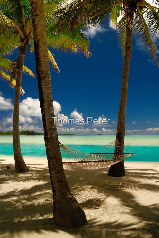 Aitutaki, Cook Islands by Thomas Peter