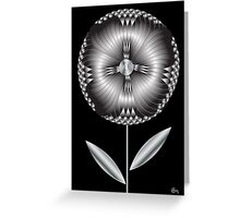 Art Deco Blooming  Greeting Card