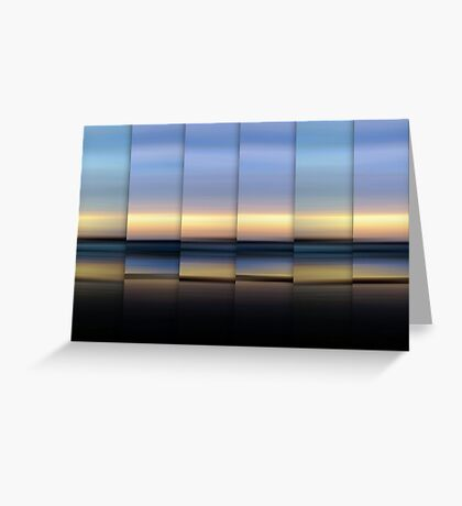 The Hour Before Darkness Greeting Card
