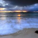Stormy Sunset by Angie Latham