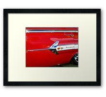 Chevy Nomad Framed Print