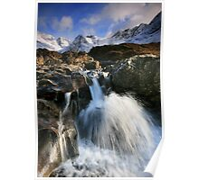 The Fairy Pools of Skye Poster