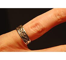 Ring Finger Photographic Print
