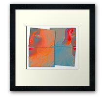 Back to Front and Inside Out Framed Print