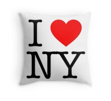 Some People Love NY Throw Pillow
