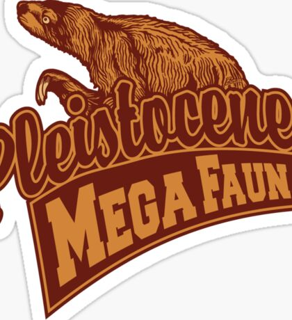Mega Fauna Sticker