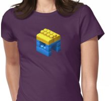 3D Miniature House Womens Fitted T-Shirt