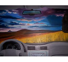 Sunset over the Palouse Photographic Print