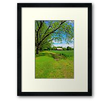 Old Barn in the Country Framed Print