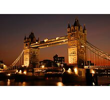 Tower Bridge Photographic Print