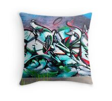 SYDNEY GRAFFITI 32 Throw Pillow