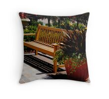 Sit and Enjoy The Day Throw Pillow