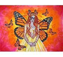 Orange Fairy Photographic Print
