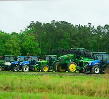 Tractor Line by AlixCollins