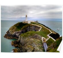 South Stack Lighthouse - Holyhead Poster