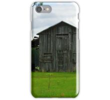 Wooden Barn in Turbeville SC iPhone Case/Skin