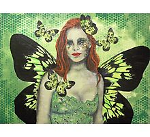 Green Fairy Photographic Print