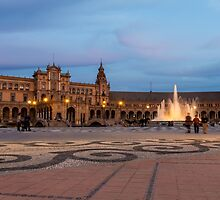 Plaza de España by MichaelJP