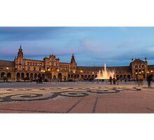 Plaza de España Photographic Print