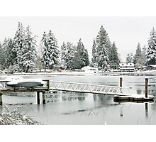 Wintery Wonderland Photographic Print