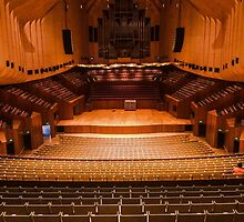 Sydney Opera House, Concert Hall by Shannon Friel