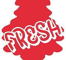 Fresh Euro Dub car air freshener style by pugsters