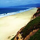 Half Moon Bay Curvature by Polly Peacock