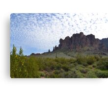 Superstition Mountain 2 Canvas Print