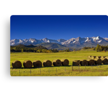 High Country Harvest Canvas Print