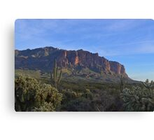 Superstition Mountain 3 Canvas Print