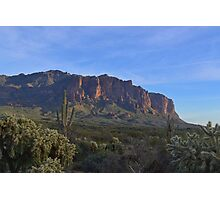 Superstition Mountain 3 Photographic Print