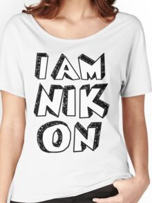 I Am Nikon Women's Relaxed Fit T-Shirt