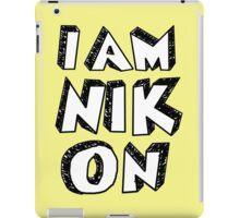 I Am Nikon iPad Case/Skin