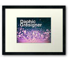 Daphic Gresigner or Graphic Designer? Framed Print