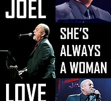 Billy Joel she's always a woman lovesong by andrian pranata