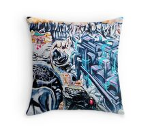 SYDNEY GRAFFITI 34 Throw Pillow