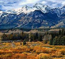 Autumn in the Tetons by Brian Kerls  photography