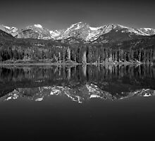 Sprague Lake Reflections by Brian Kerls  photography