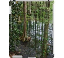 Cypress Trees Growing in Swan Lake iPad Case/Skin