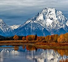 Oxbow Bend by Brian Kerls  photography