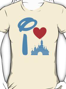 I Heart Sleeping Beauty (Inverted) T-Shirt