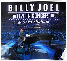 Billy Joel live in concert Poster