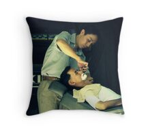 Shaving Throw Pillow