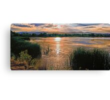 Walden Ponds Sunset II Canvas Print