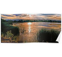 Walden Ponds Sunset II Poster