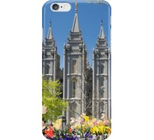Mormon Temple - Salt Lake City iPhone Case/Skin