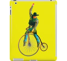 Cowboy Rides a Bike iPad Case/Skin