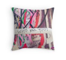 SYDNEY GRAFFITI 36 Throw Pillow