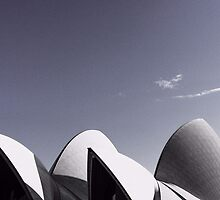 Sydney Opera House Roof by Shannon Friel