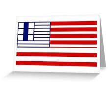 Flag of Lethbridge  Greeting Card